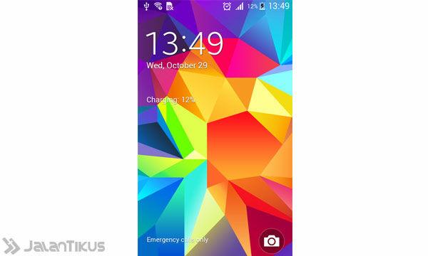Galaxyvlockscreen
