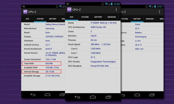 Memori Android B