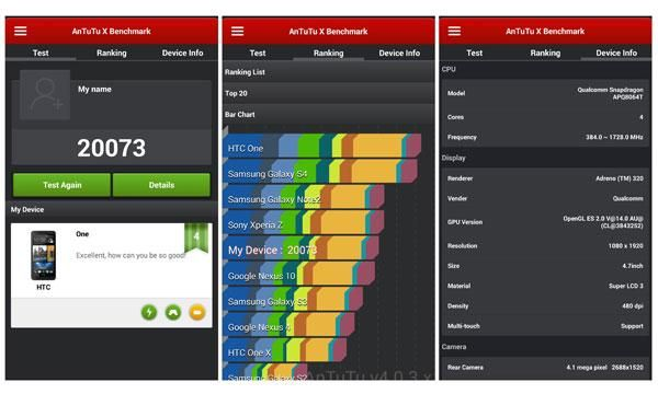Apps Benchmark B