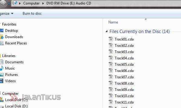 Cara Rip Cd Audio Menggunakan Windows Media Player Jalantikus
