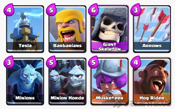 Battle Deck Giant Skeleton Terbaik 16
