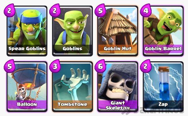 Battle Deck Giant Skeleton Terbaik 20