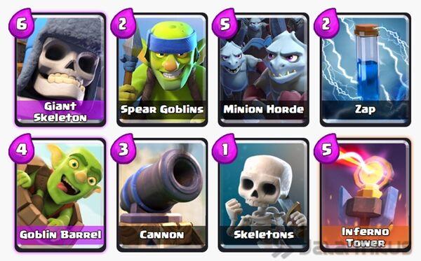 Battle Deck Giant Skeleton Terbaik 3