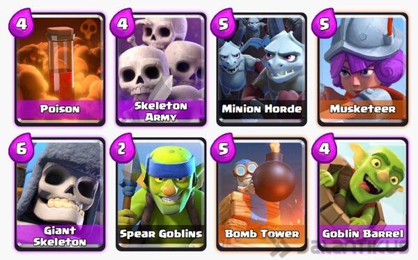 Battle Deck Giant Skeleton Terbaik 6