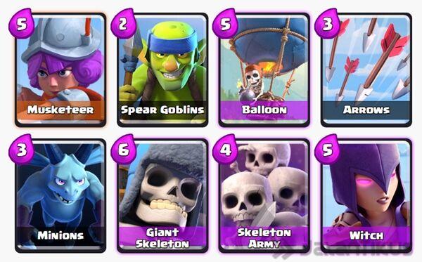 Battle Deck Giant Skeleton Terbaik 8