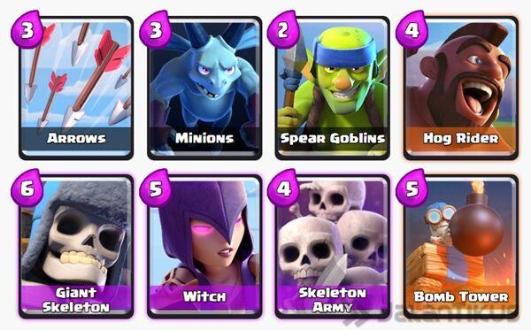 Battle Deck Giant Skeleton Terbaik 9
