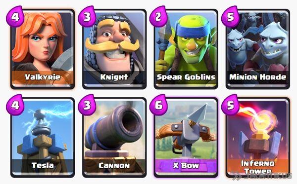 Battle Deck X Bow Clash Royale 17