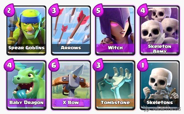 Battle Deck X Bow Clash Royale 5
