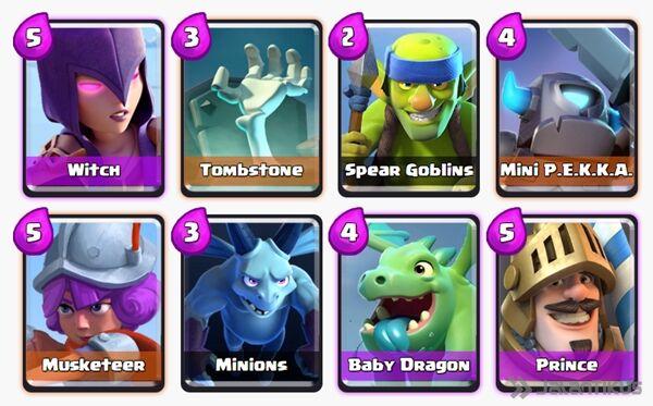 Battle Deck Baby Dragon Clash Royale 5