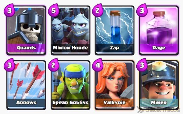 Battle Deck Miner Clash Royale 11