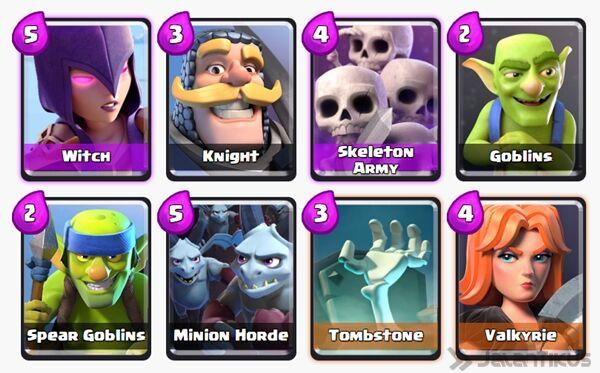 Battle Deck Dark Prince Clash Royale 17