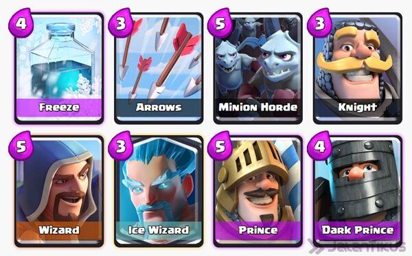 Battle Deck Dark Prince Clash Royale 20