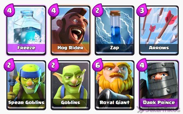 Battle Deck Dark Prince Clash Royale 23
