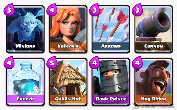 Battle Deck Dark Prince Clash Royale 26