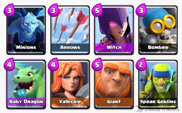Battle Deck Giant Clash Royale 17