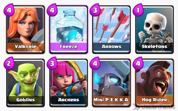 Battle Deck Mini Pekka Clash Royale 10