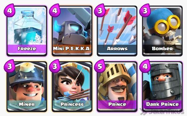 Battle Deck Mini Pekka Clash Royale 19
