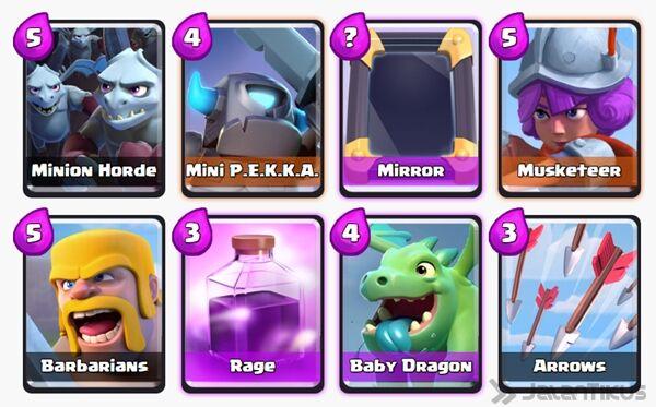 Battle Deck Mini Pekka Clash Royale 4