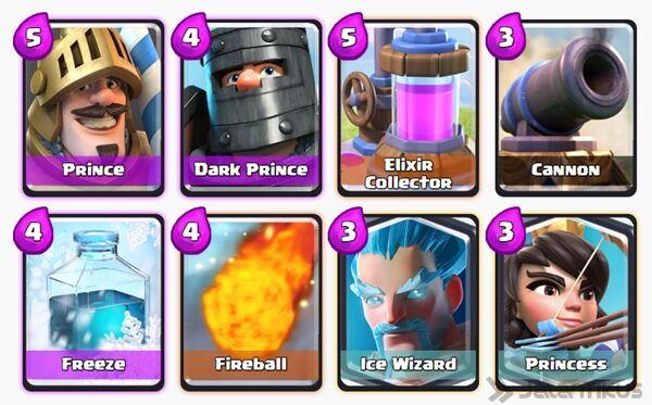 Battle Deck Ice Wizard Clash Royale 23