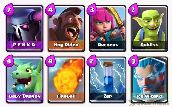 Battle Deck Ice Wizard Clash Royale 9