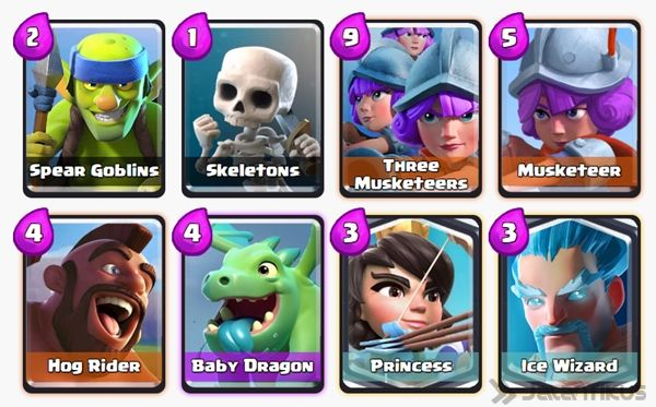 Battle Deck Musketeer Clash Royale 16