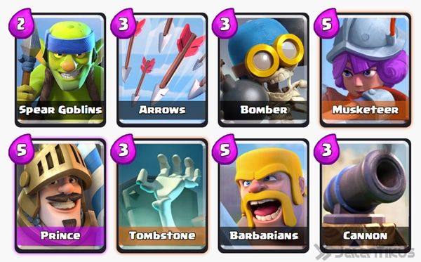 Battle Deck Musketeer Clash Royale 17