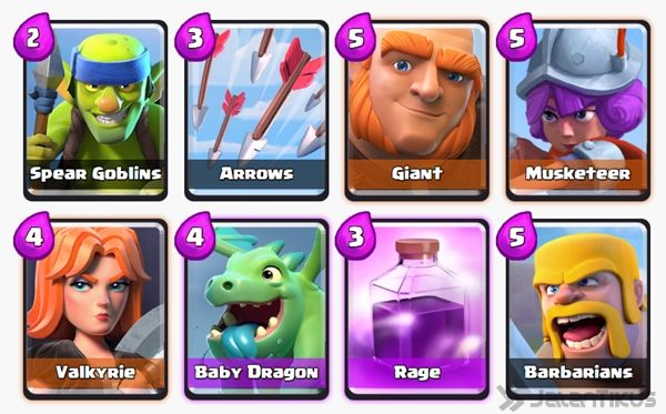 Battle Deck Musketeer Clash Royale 20