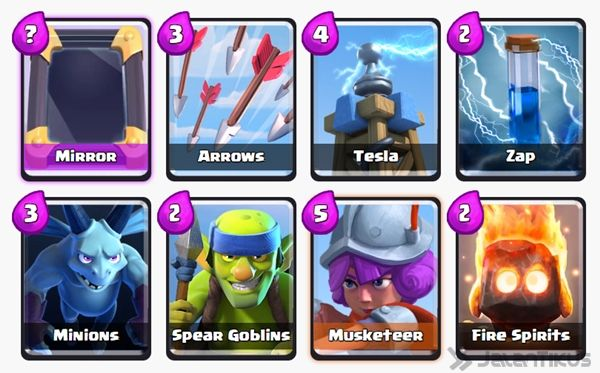 Battle Deck Musketeer Clash Royale 23