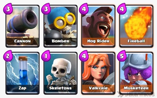 Battle Deck Musketeer Clash Royale 27