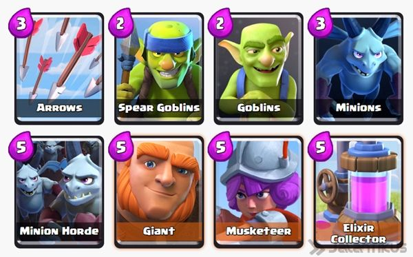 Battle Deck Musketeer Clash Royale 28
