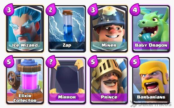 Battle Deck Prince Clash Royale 13