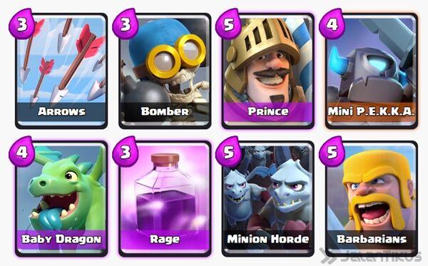 Battle Deck Prince Clash Royale 15