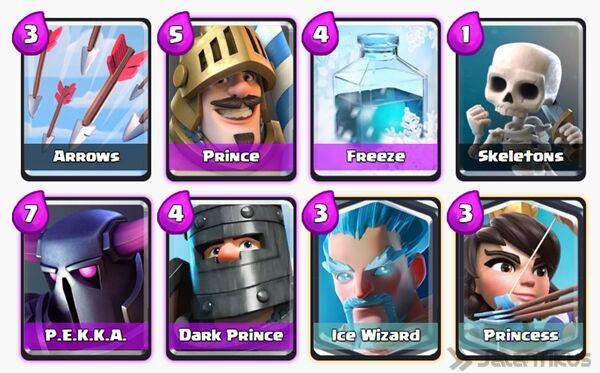 Battle Deck Prince Clash Royale 21
