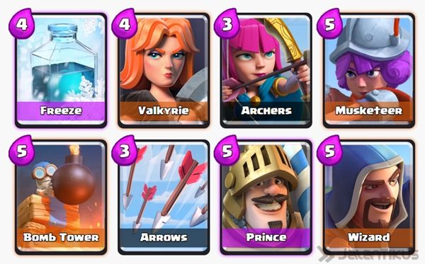 Battle Deck Prince Clash Royale 26
