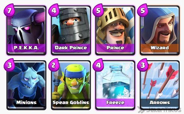 Battle Deck Prince Clash Royale 30