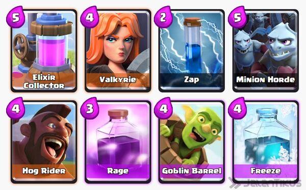 Battle Deck Goblin Barrel Clash Royale 14
