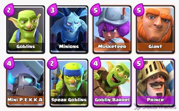 Battle Deck Goblin Barrel Clash Royale 16