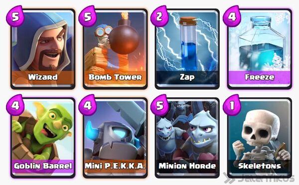 Battle Deck Goblin Barrel Clash Royale 17