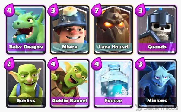 Battle Deck Goblin Barrel Clash Royale 19