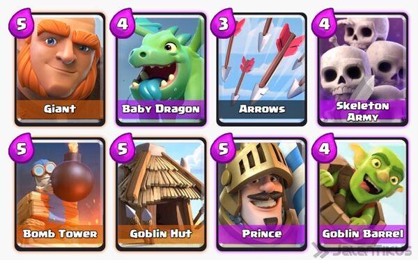 Battle Deck Goblin Barrel Clash Royale 21