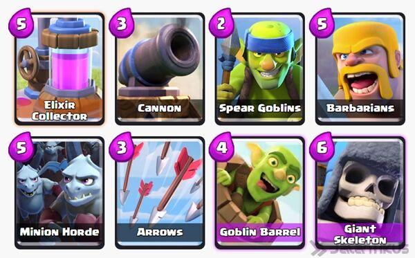 Battle Deck Goblin Barrel Clash Royale 9