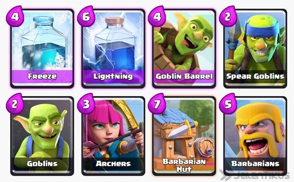 Battle Deck Archers Clash Royale 20