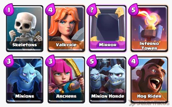 Battle Deck Archers Clash Royale 24
