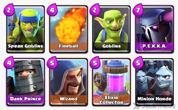 Battle Deck Wizard Clash Royale 15
