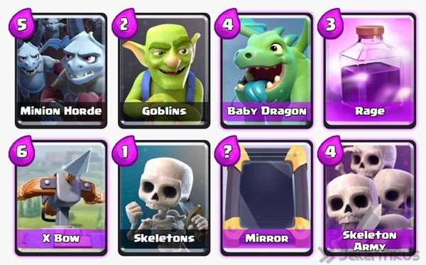 Battle Deck Skeleton Army Clash Royale 17