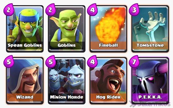 Battle Deck Minion Horde Clash Royale 10