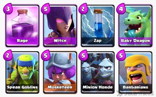 Battle Deck Minion Horde Clash Royale 21