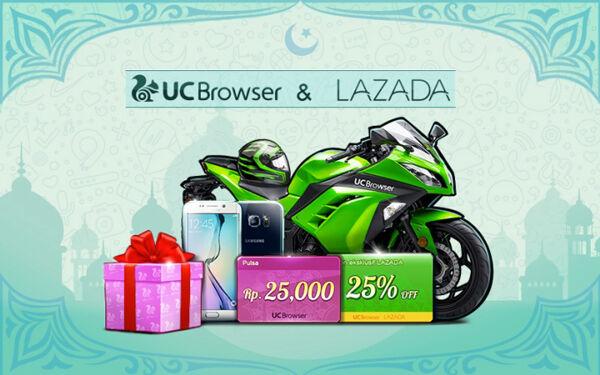 Uc Browser Kolaborasi Lazada Indonesia 4