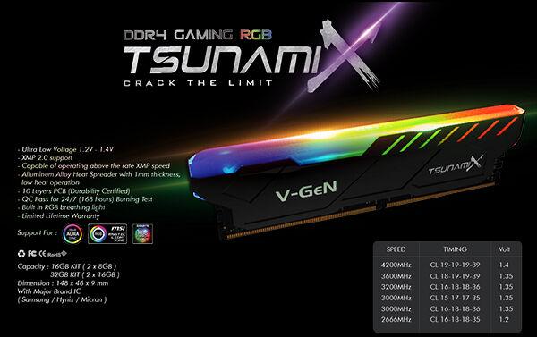 Ram Tsunami Series Vgen 3 3d415