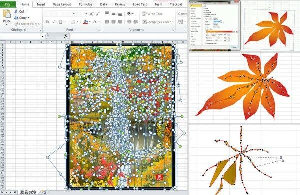 Lukisan Menggunakan Excel 6 E3922
